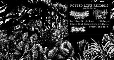 Cryptic Brood / Night Hag 'Swollen With Rancid Phlegm'