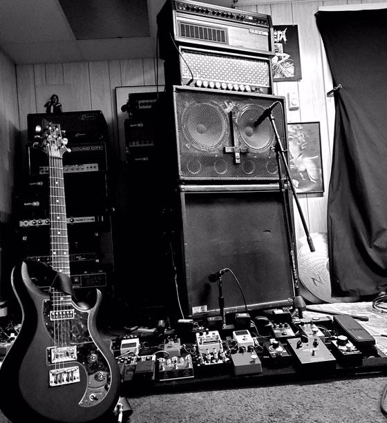 Aaron Lewis / When The Deadbolt Breaks - Guitar, Pedalboard & Amp Rig