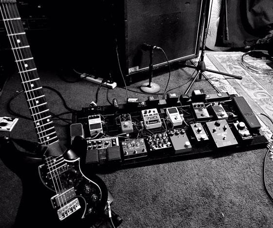Aaron Lewis / When The Deadbolt Breaks - Guitar & Pedalboard