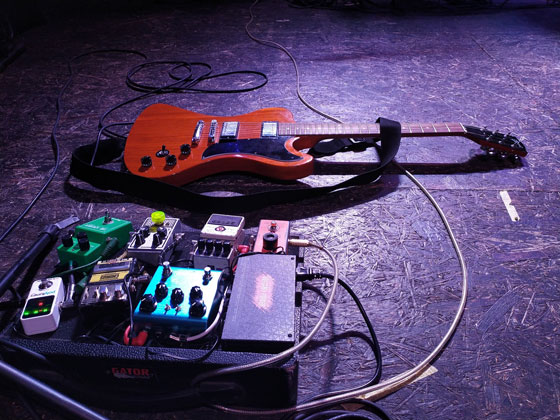 Igor Sidorenko / Stoned Jesus - Guitar & Pedalboard