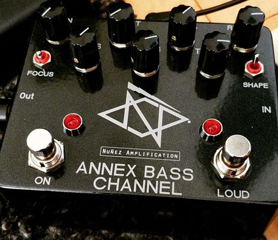 Nuñez Amplification - Annex Bass Channel