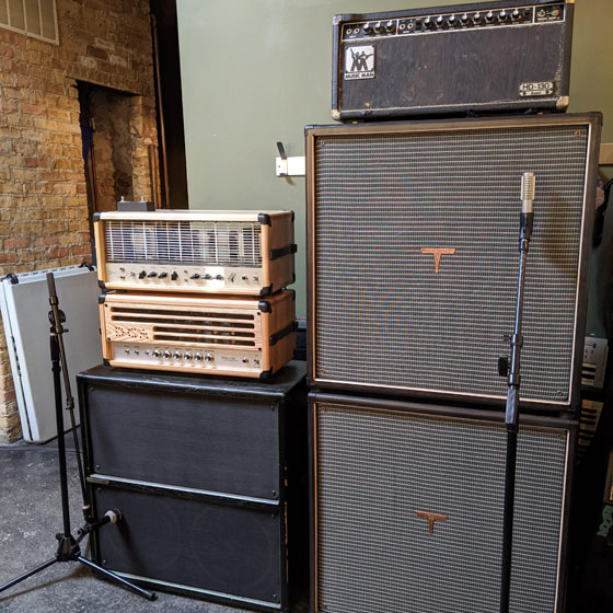 Rob McWilliams / REZN - Amp Rig