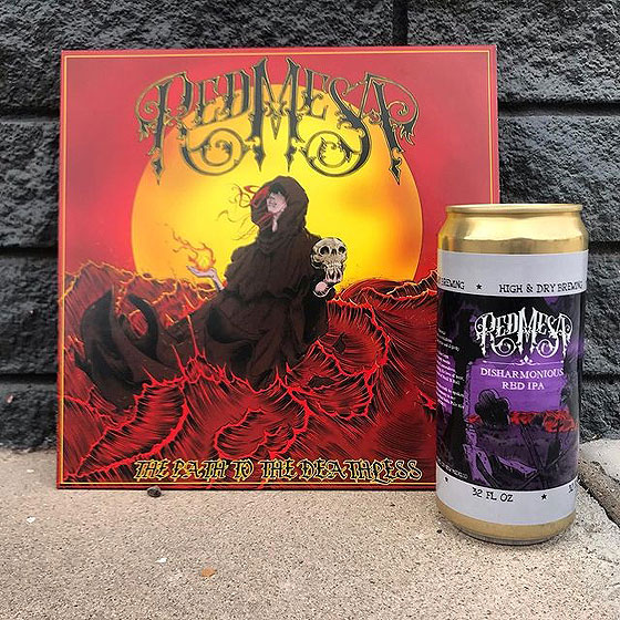 Red Mesa 'The Path To The Deathless' LP / Disharmonious Red IPA