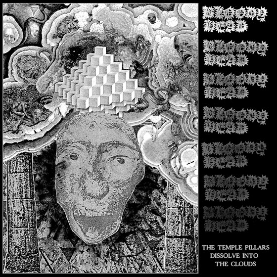 Bloody Head 'The Temple Pillars Dissolve Into The Clouds'