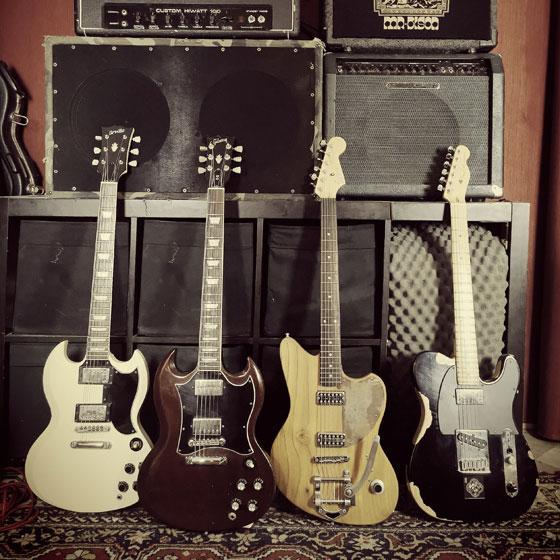 Matteo Barsacchi / Mr. Bison - Guitars