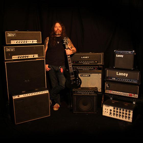 Tony Reed / Mos Generator - Laney Amp Rigs