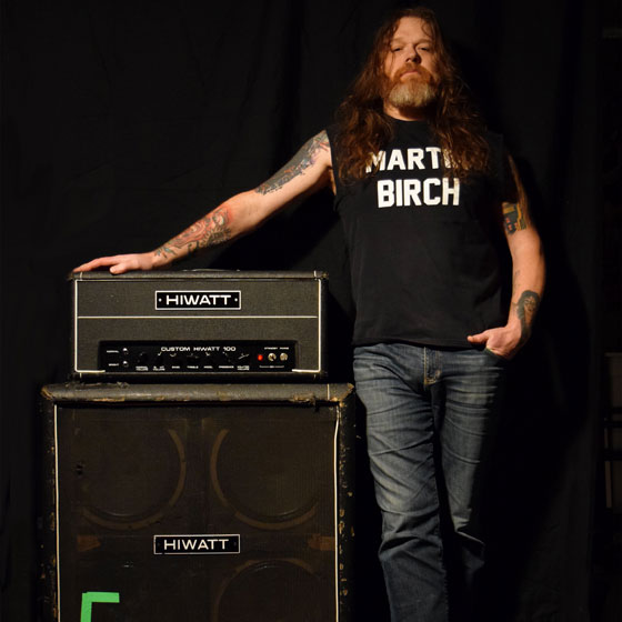 Tony Reed / Mos Generator & Big Scenic Nowhere - Hiwatt Amp Rig