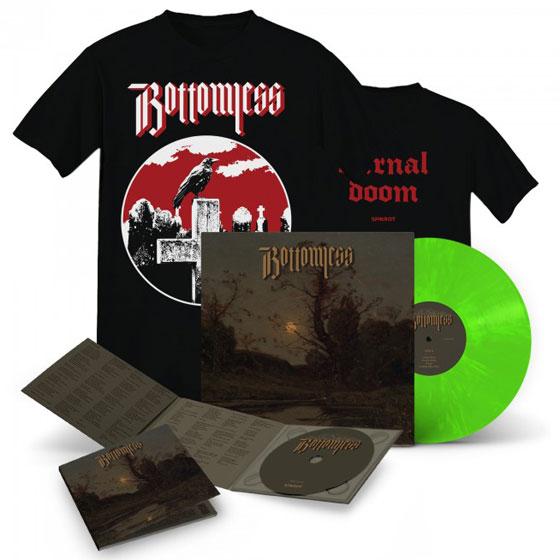 Bottomless 'Bottomless' Vinyl, CD & T-Shirt Die Hard Bundle