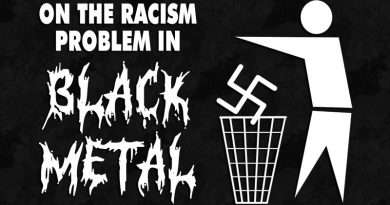 On The Racism Problem In Black Metal