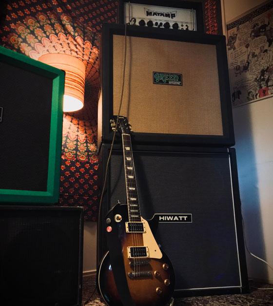 Hampus Sandell / Alastor - Guitar & Amp Rig