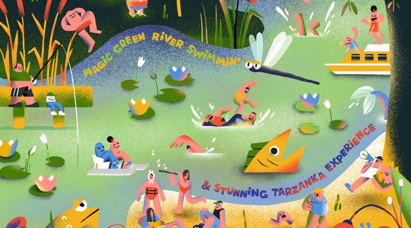 Straytones 'Magic Green River Swimmin' & Stunning Tarzanka Experience'