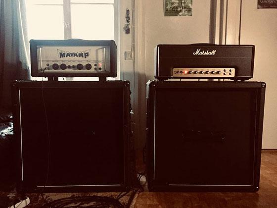 Jon Imberton / Gangrened - Amp Rig