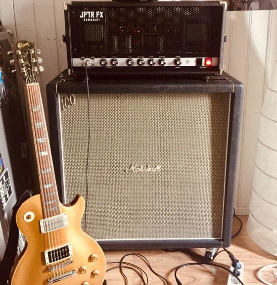 Jon Imberton / Gangrened - Guitar & Amp Rig