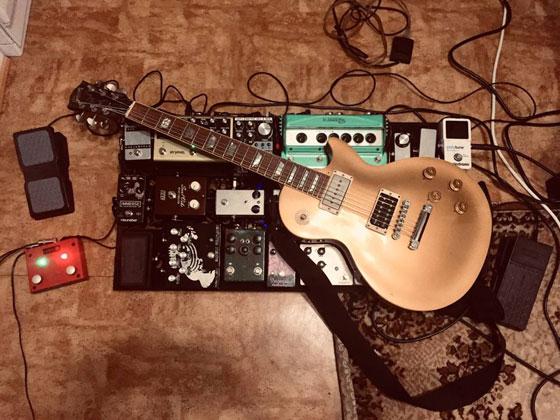 Jon Imberton / Gangrened - Guitar & Pedalboard