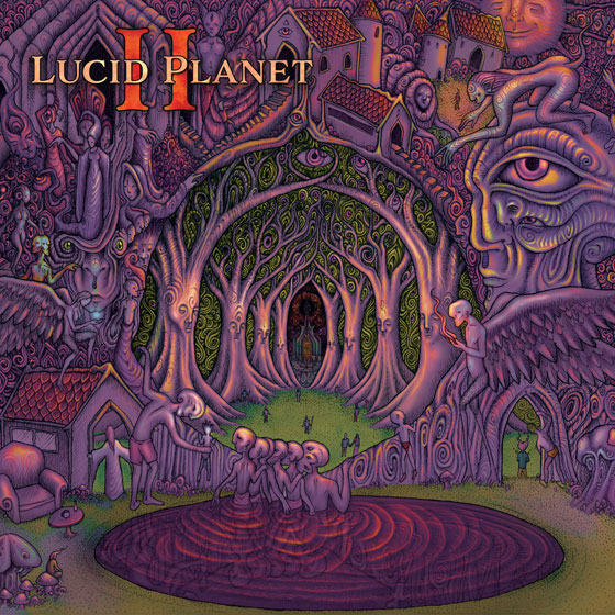 Lucid Planet 'II' - Front Cover Artwork