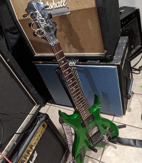Nate Hall - BC Rich Guitar