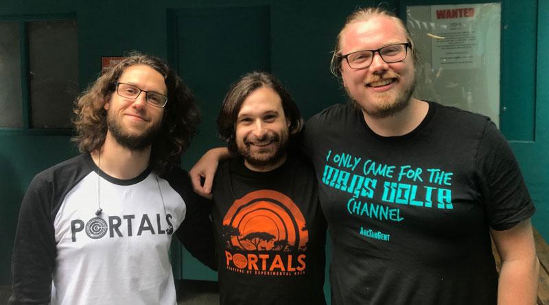 Portals Festival - Sam, Asher & Arran