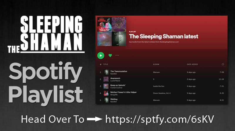 The Sleeping Shaman Spotify Playlist