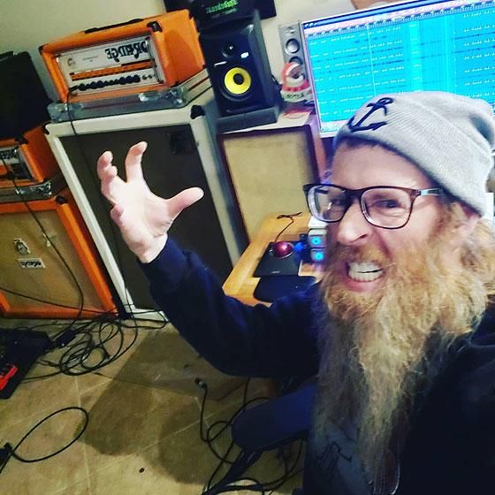 Aaron Wall / Red Beard Wall - Home Studio