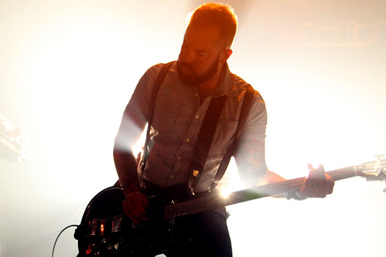 Brian Cook / Russian Circles - Photo by Lee Edwards